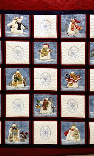 Prize Quilt 2015